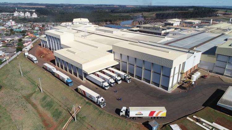 cooperativa aurora investe R$ 568 milhões em unidades do sul