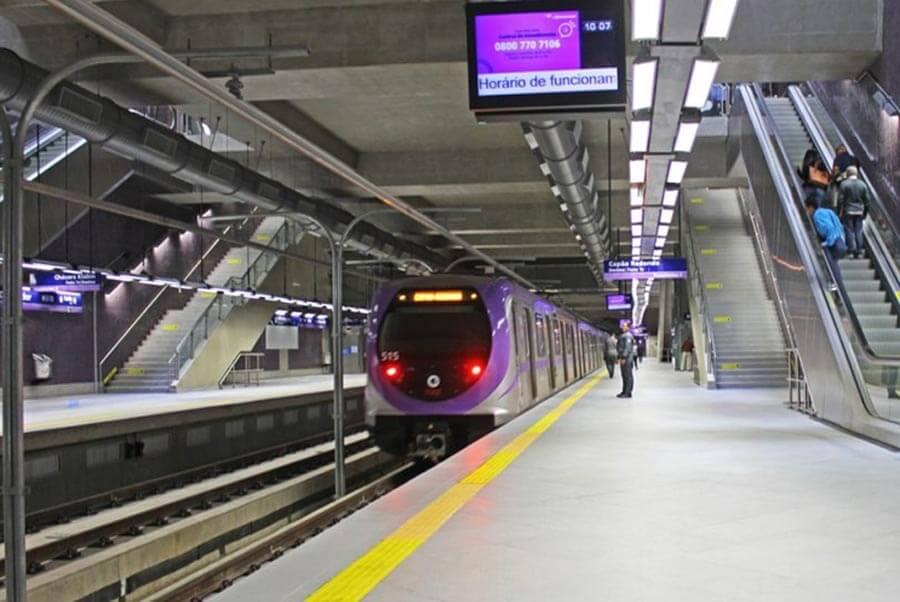 linha 5-lilás do metrô de sp testa pagamento por qr code