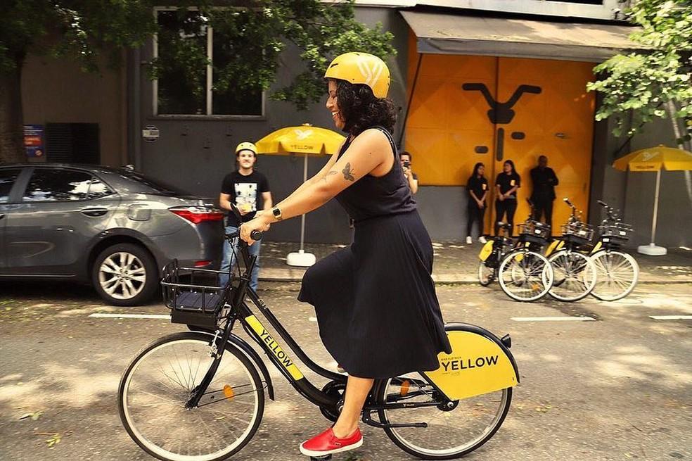 empréstimo de bikes atrai poucas mulheres no capão redondo