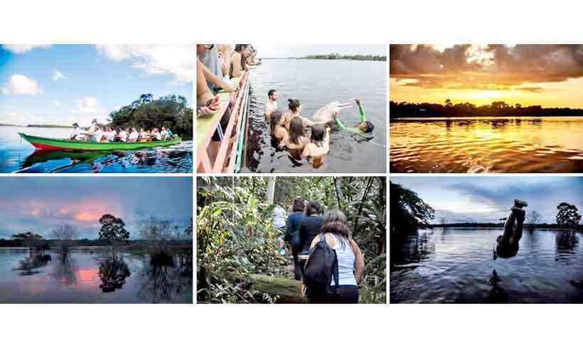 volunturismo chega à comunidade ribeirinha da amazônia