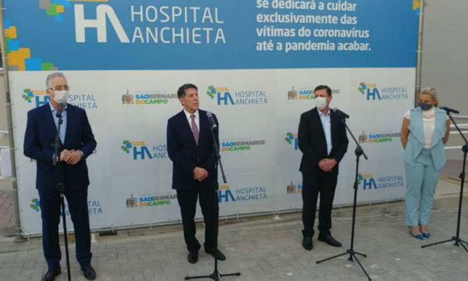 sbc reinaugura hospital anchieta com foco no coronavírus
