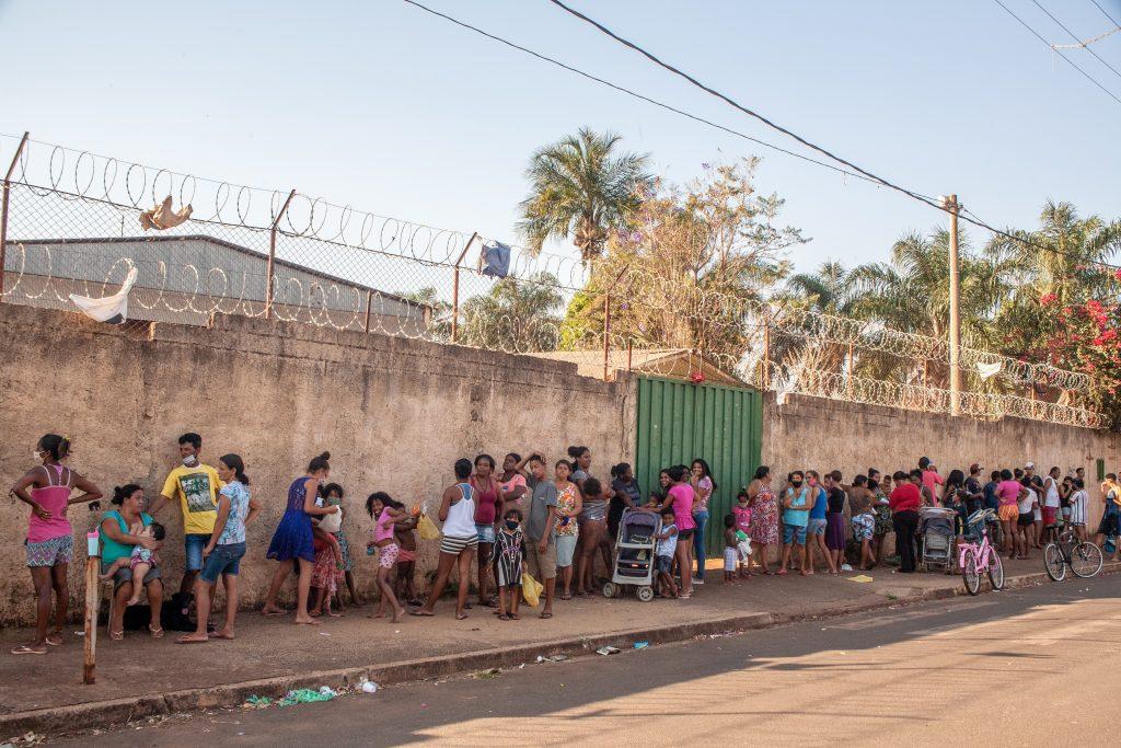 jardinópolis (sp) recebe doações de grupo grito dos excluídos