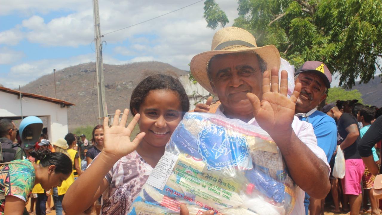 campanha da lbv vai arrecadar alimentos para municípios cearenses