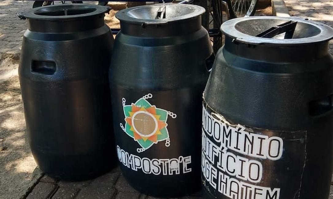 bairro do rj transforma lixo orgânico em adubo