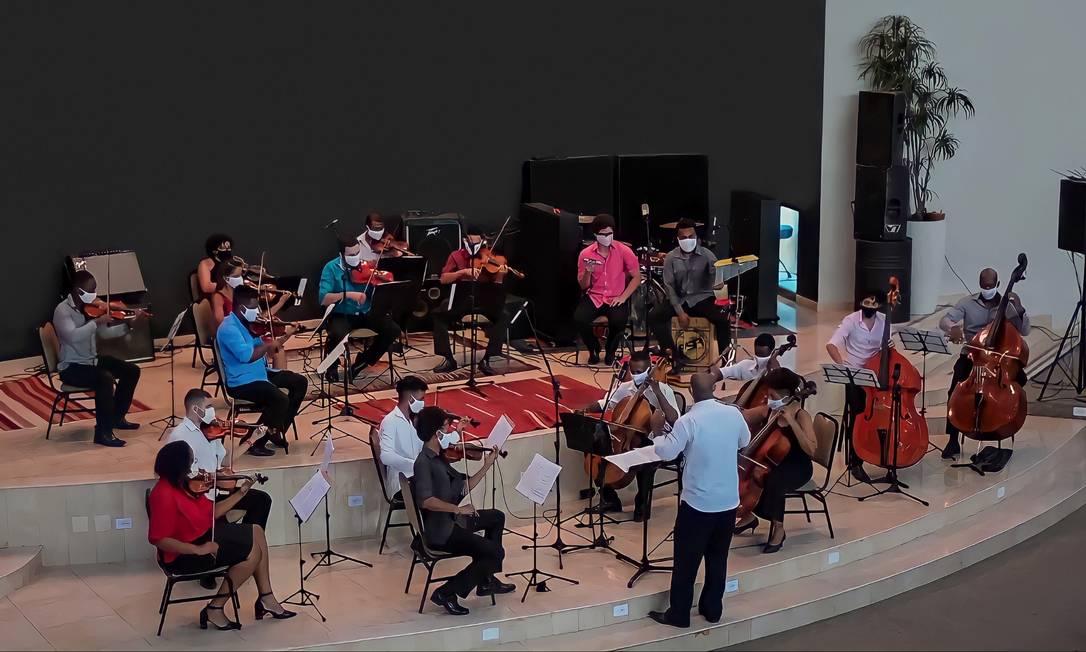 orquestra da grota abre seleção para novos músicos