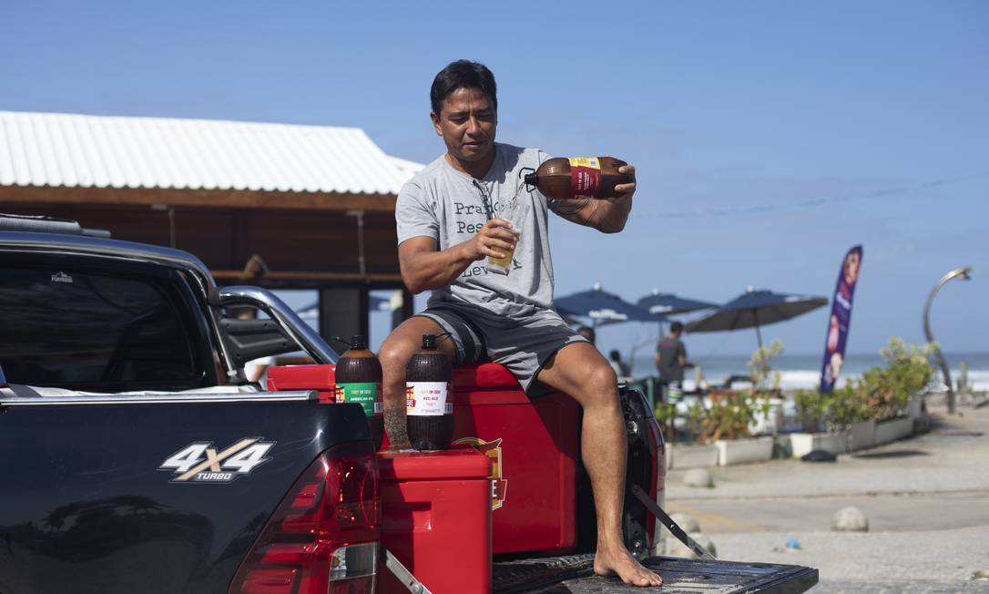 chope na garrafa pet após sucesso na praia, empresário investe no negócio