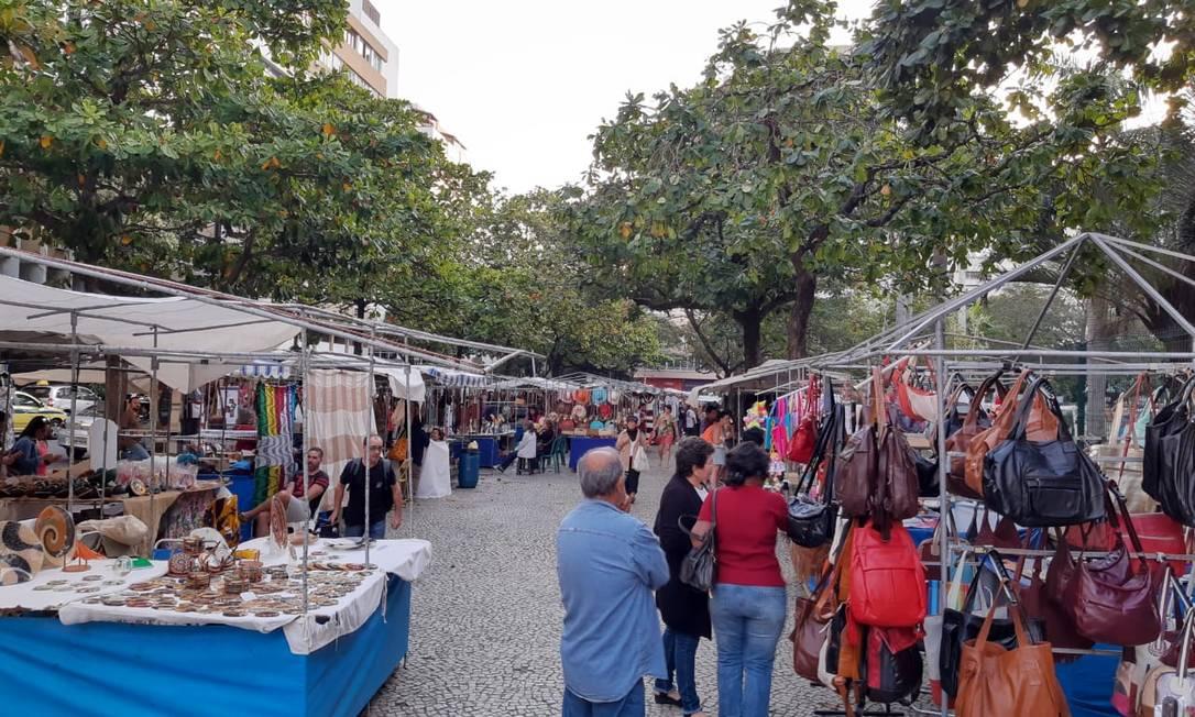 feira hippie de ipanema expositores cobram auxílio da prefeitura