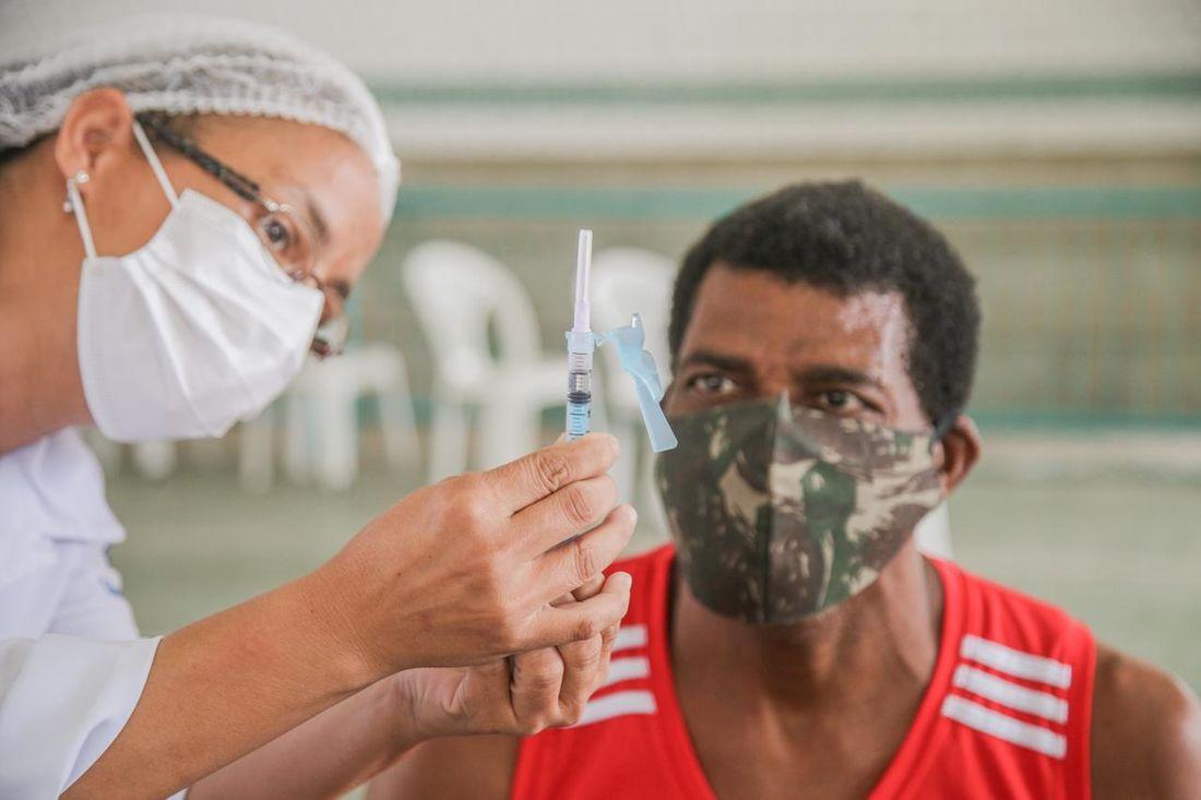 vacinação no cabo pessoas com comorbidades a partir dos 18 anos serão imunizadas