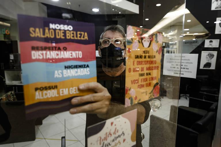 shoppings e salões de beleza devem acionar a justiça para pedir indenização por fechamentos durante a pandemia